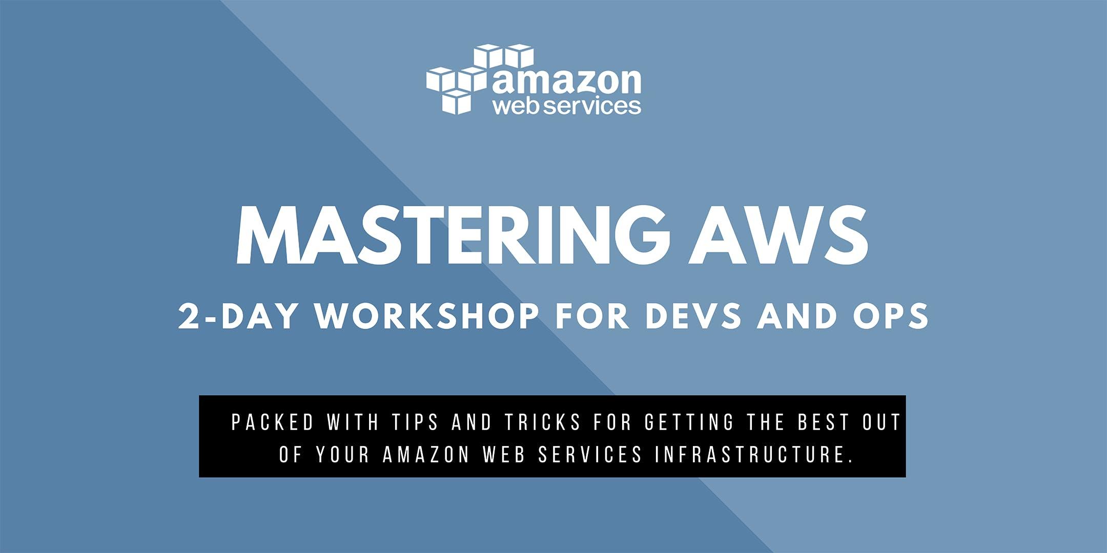 TOP Mastering Amazon Web Services (Antwerpen)