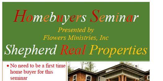 Homebuyers Seminar  20st Floor