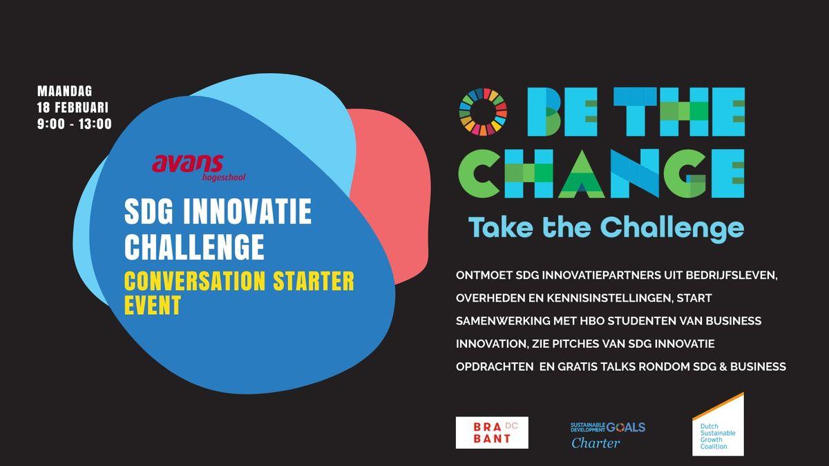 SDG Innovatie Challenge Conversation Starter Event