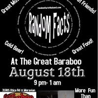 Random Facts is back at The Great Baraboo