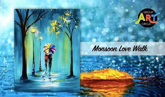 Monsoon Love Walk - Paint Party (Mundhwa)