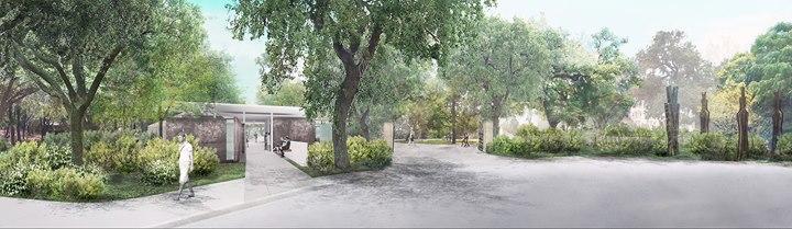 Groundbreaking Celebration Phase I of Laguna Gloria Master Plan