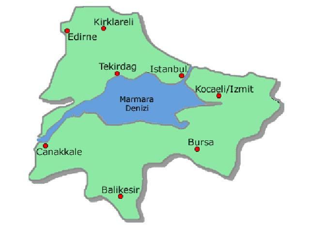 Marmara Denizi evresi