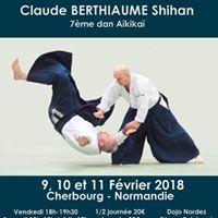 Aikido Stage International Claude Berthiaume Shihan