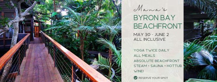 Byron Bay Beachfront Retreat May 30 - June 2