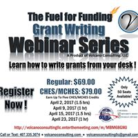 The Fuel for Funding Grant Writing Webinar Series