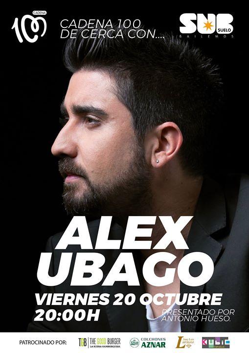 Concierto -Alex Ubago- Subsuelo Pamplona