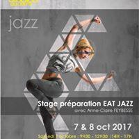 Stage de prparation  lEAT JAZZ  7 et 8 octobre