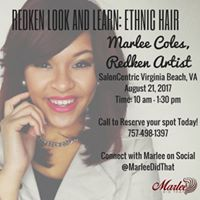 Redken Look &amp Learn Ethnic Hair with Marlee Coles