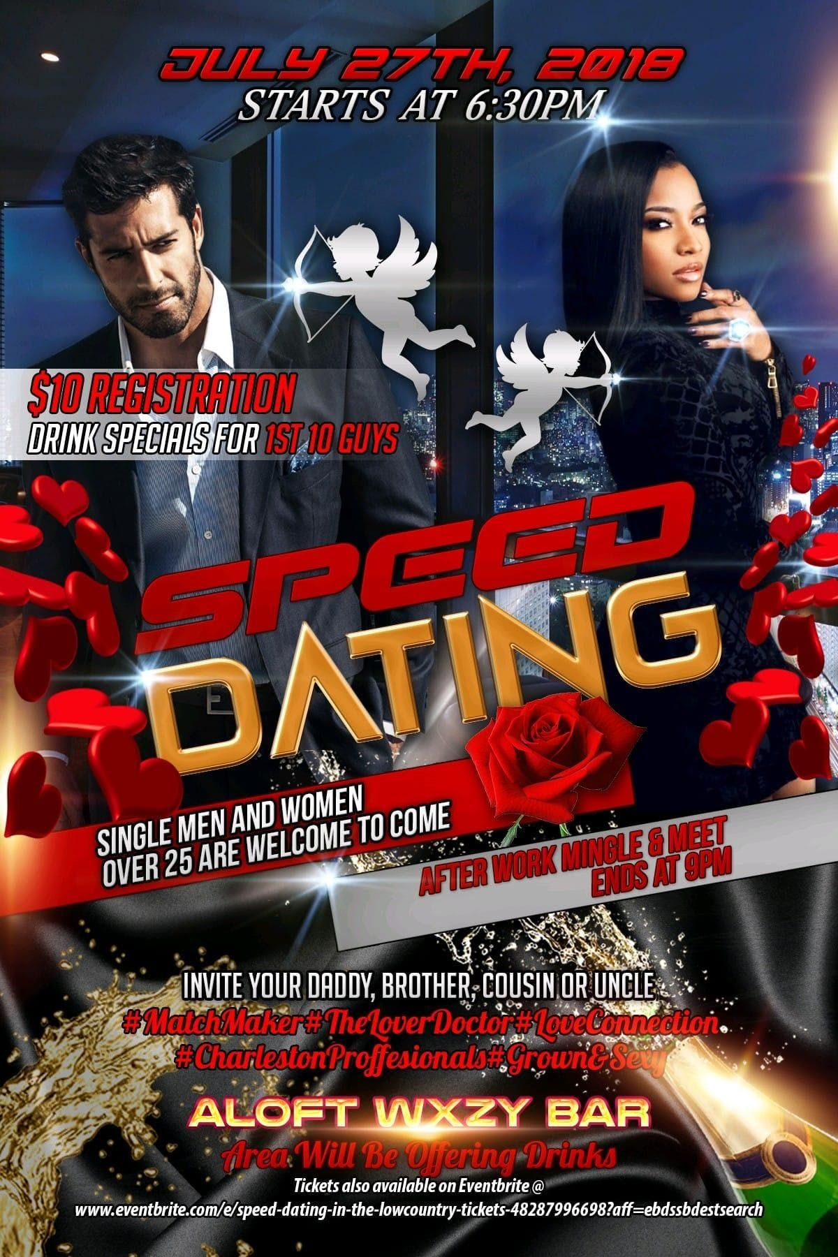 Like speed dating a cousin