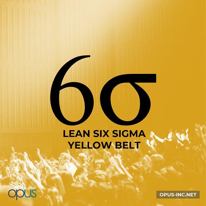 Lean Six Sigma Yellow Belt Training Certification At Opus Inc