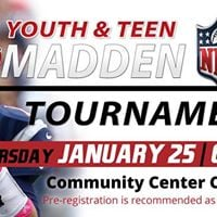 Youth &amp Teen Madden 18 NFL Tournament