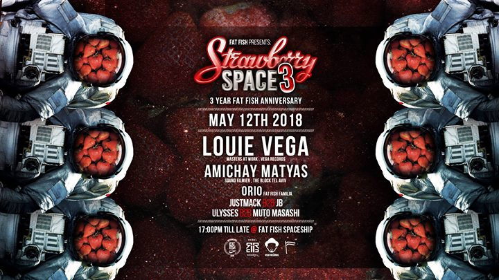 Strawberry Space 3.0 ft Louie Vega