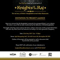 Knights Of The Raj Project Launch