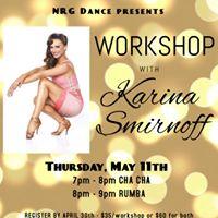 Workshop with Karina Smirnoff