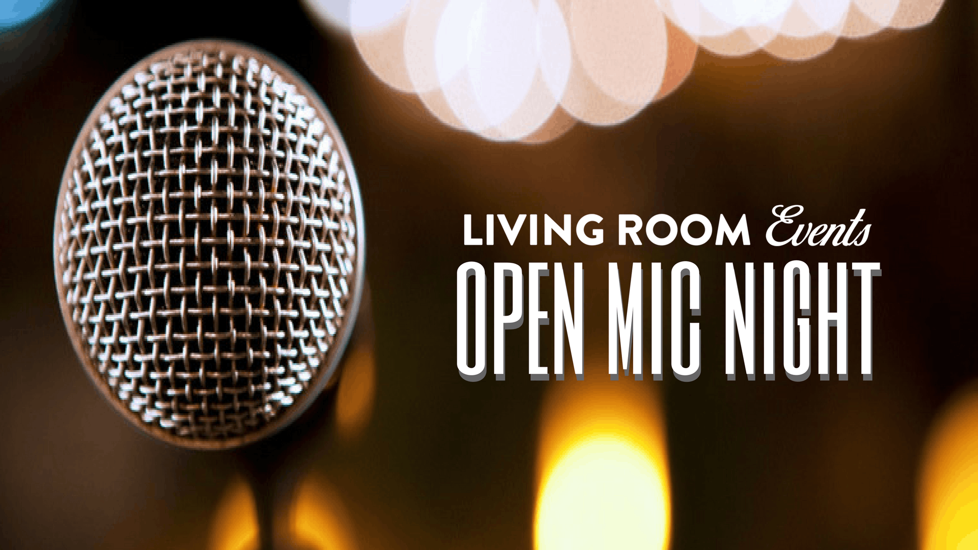 Open Mic Night With Livingroom Live