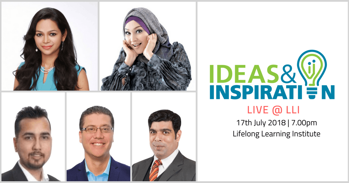 Ideas & Inspiration Live at LLI