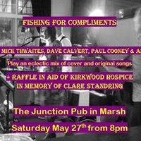 Fishing4Cs  Guests and a raffle in aid of Kirkwood Hospice