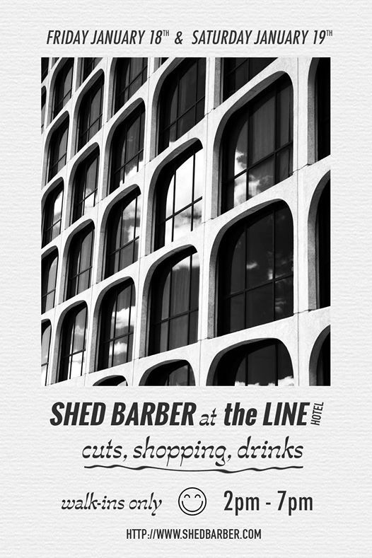 SHED Barber at The LINE Hotel