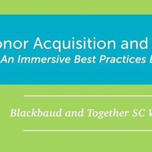 Donor Acquisition and Retention Workshop