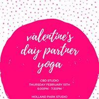 Valentines Day Partner Yoga