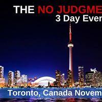 No Judgment Diet 3 Day Event - Toronto