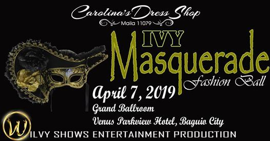 IVY Masquerade Fashion Ball