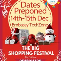 The Big Shopping Festival -9th Edition