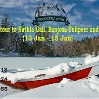 3 Days Winter Trip to Nathiya Gali Tolipeer Banjosa and Monal