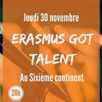 Erasmus got Talent