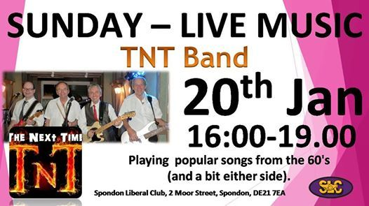 Sunday Live Music - TNT - The Next Time