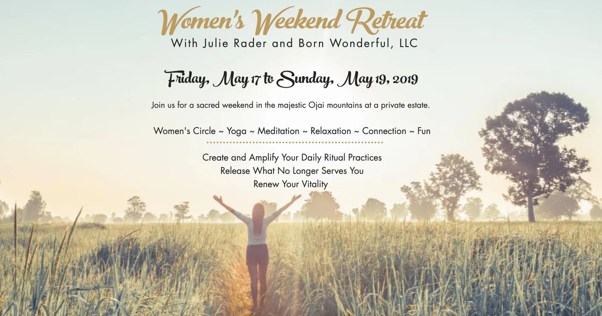 Womens Yoga And Meditation Retreat In Ojai