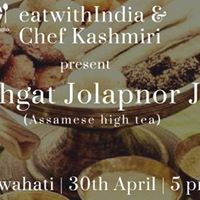 Boghgat Jolapnor Juti (Assamese high tea)