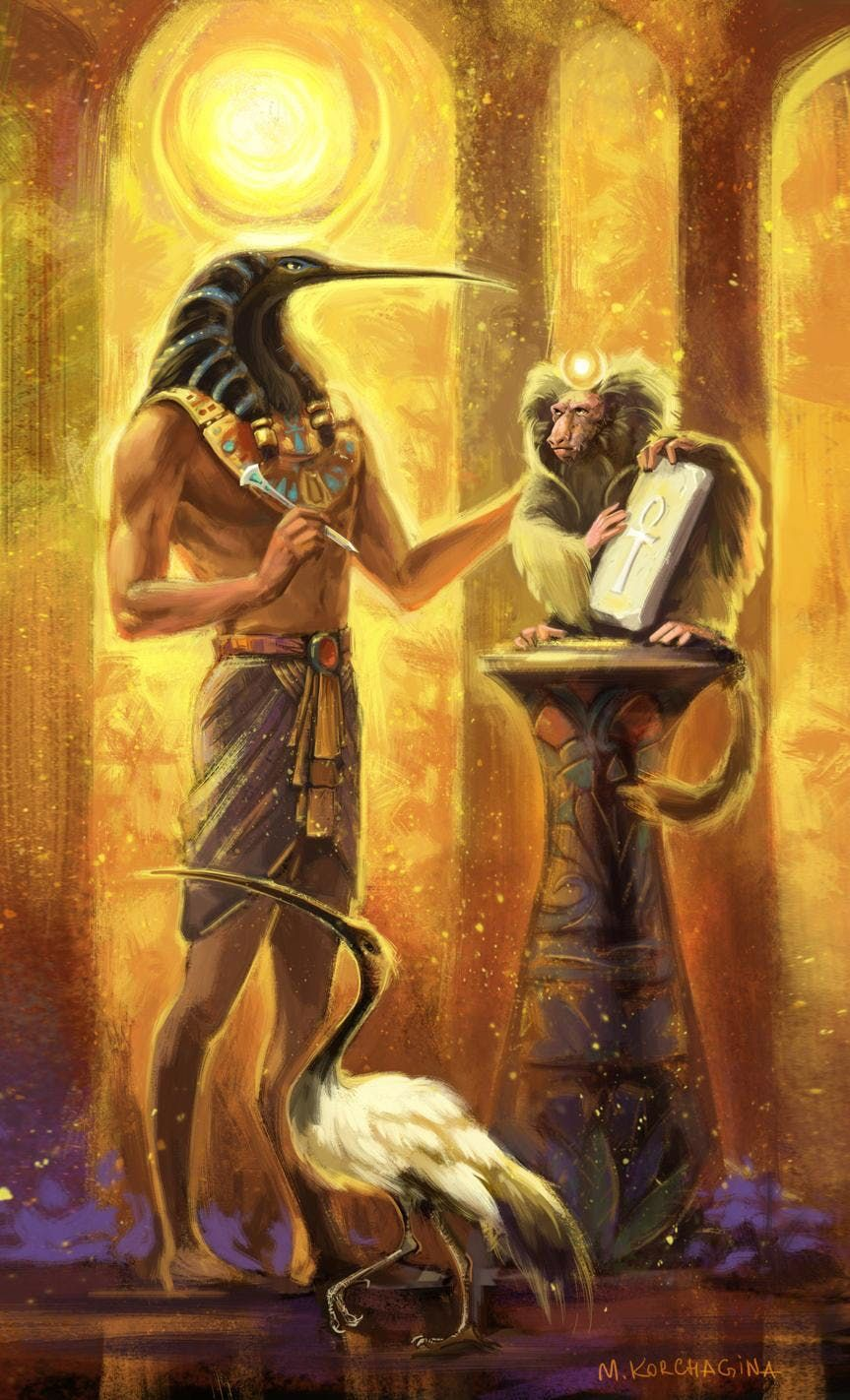 Ancient Egyptian Ceremonies Meditation with Thoth