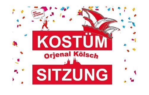 Kostmsitzung - Orjenal Klsch