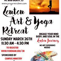 Lenten Art &amp Yoga Retreat