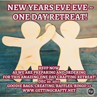 New Years Eve Eve One Day Retreat