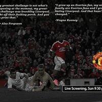 Live Joint Screening - Man Utd vs Liverpool at V Junction