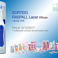 Sorteig Raspall Elctric Lacer Efficare