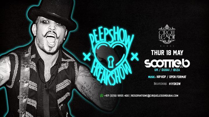 Peepshow Freakshow w DJ Scottie B