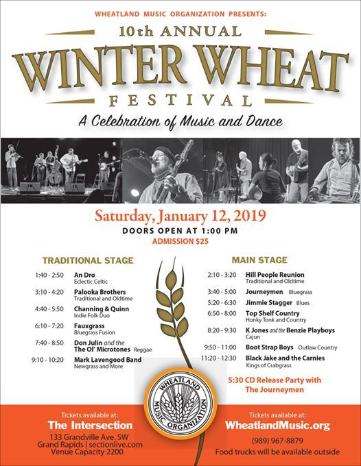 10th Annual Winter Wheat Festival at The Intersection