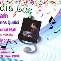 Milonga Media Luz with live music from Carlos Quilici