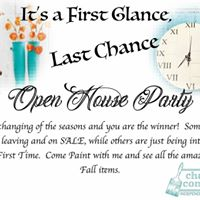 First Glance Last Chance Open House Party