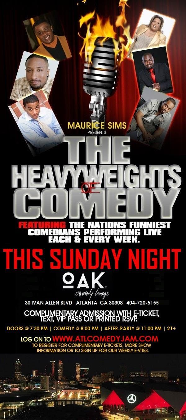 The Heavyweights of Comedy Sunday