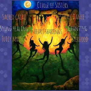 Circle Of Sisters  Fullmoon Ceremony  Embrace Gratitude