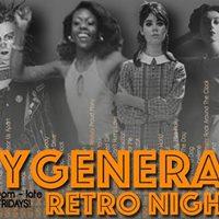 My Generation Monthly Retro 50s60s70s80s Night