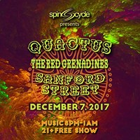 Quactus The Red Grenadines and Sanford Street at TRiP