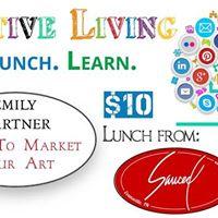 Creative Living Series w Emily Gartner on Marketing Your Art