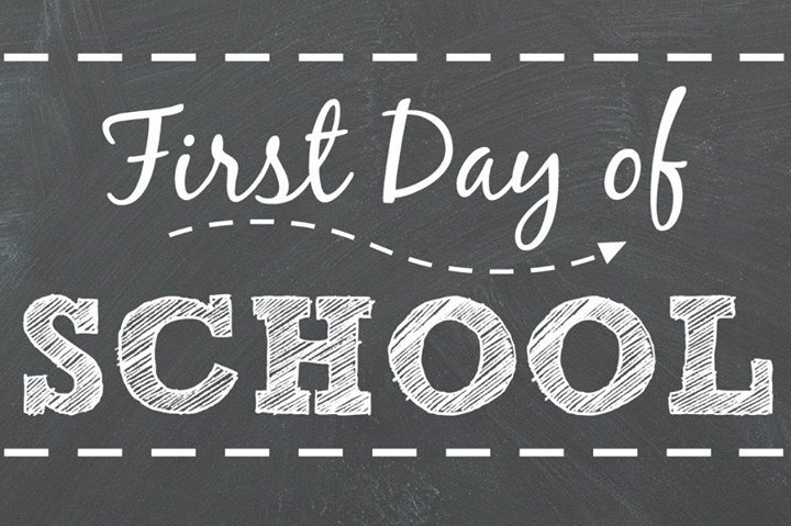 Image result for first day of school 2017-2018