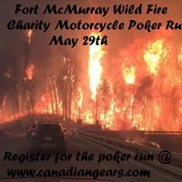 fort mcmurray wild fire ride and rock poker run at the. Black Bedroom Furniture Sets. Home Design Ideas